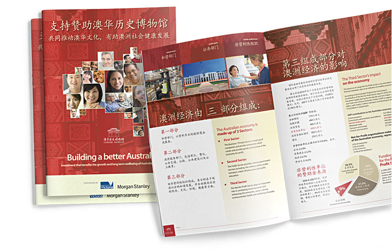 Chinese Museum International Fundraising Booklet