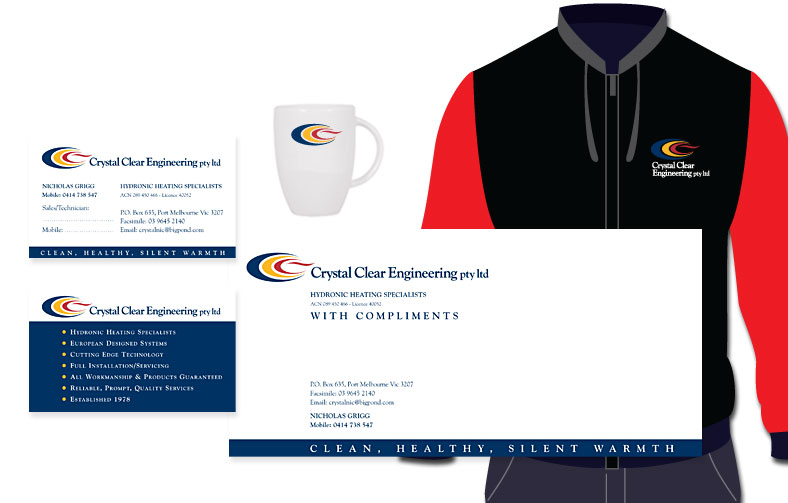 Plumbers Identity, uniforms and merchandising