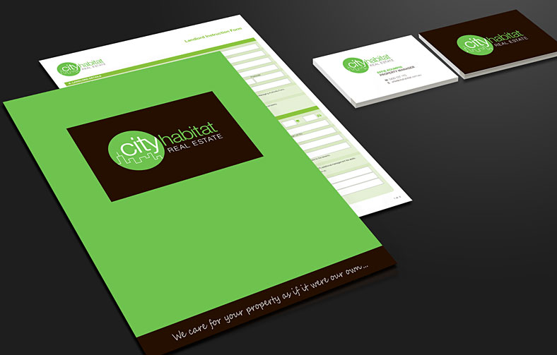 Real Estate Branding, Stationery and Presentation Kit