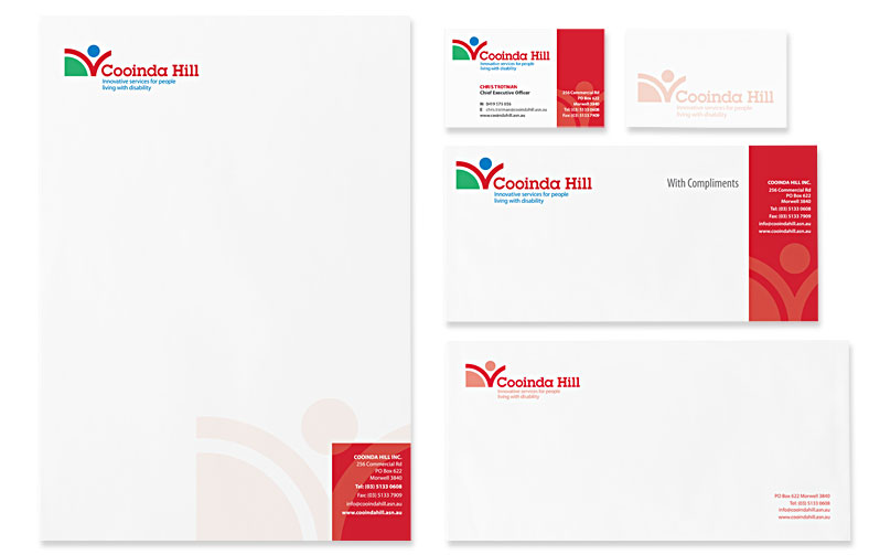 Disability Services Re-brand and Stationery
