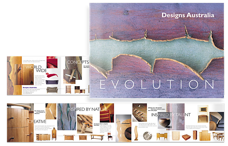 Designs Australia Furniture Design Showcase Brochure