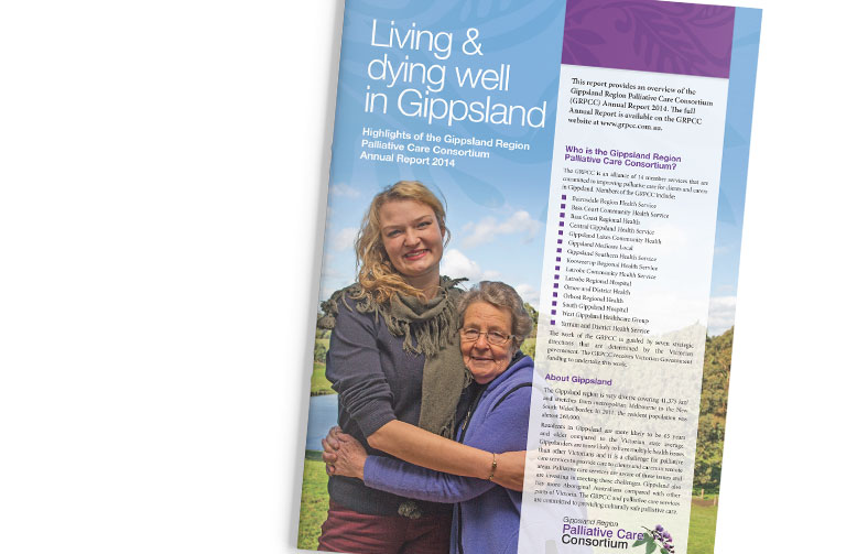 Gippsland Regional Palliative Care Consortium Executive Summary