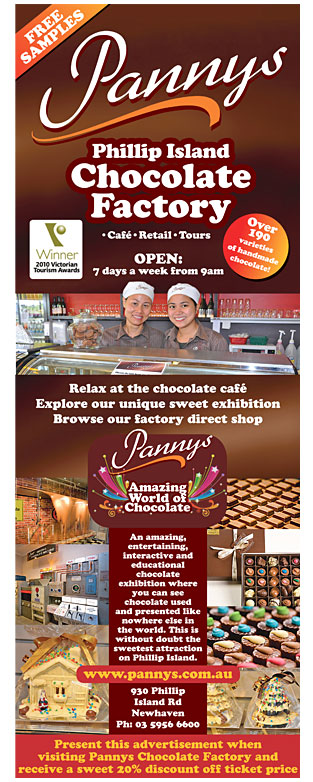 Chocolate Factory Advertisement