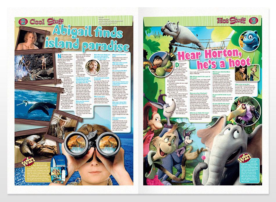 Children's Feature Design