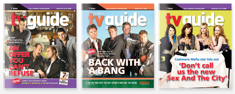 TV Guide Covers