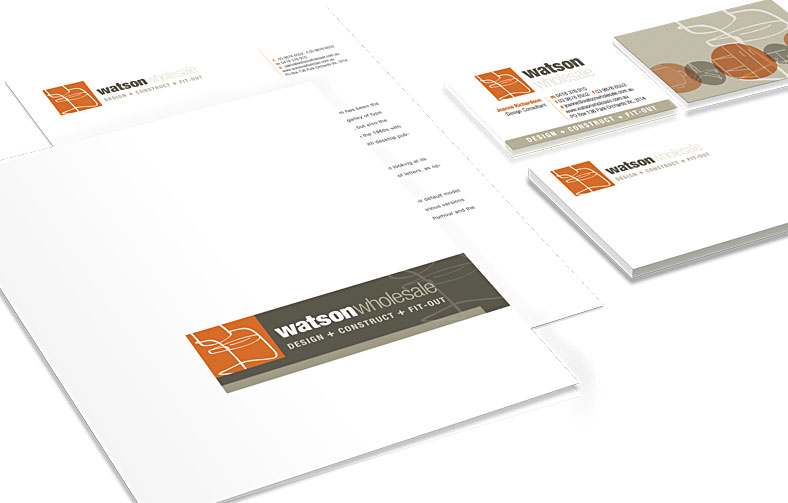 Rebrand for commercial fit-out and interior design business