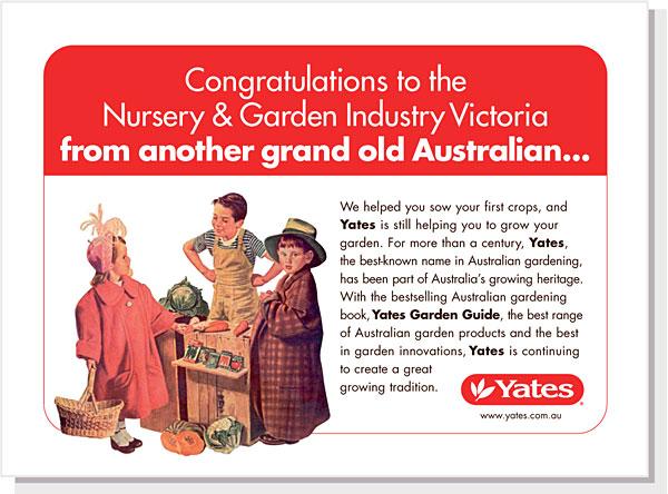 Yates Advertisement
