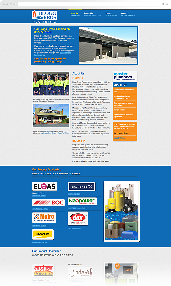 gippsland-plumbing-website-development
